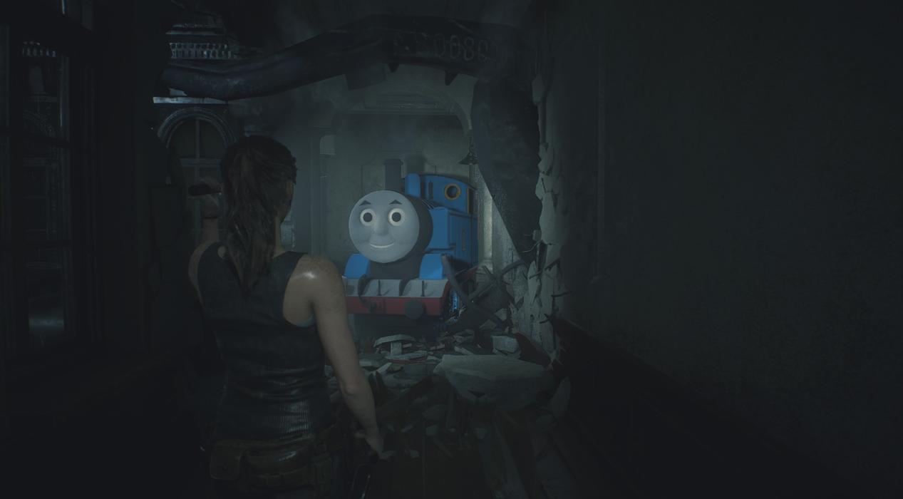 Resident Evil 2 Remake mod