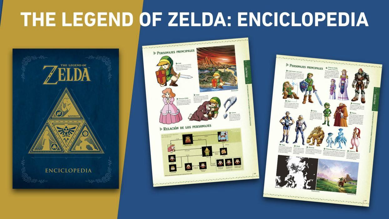 The Legend of Zelda Enciclopedia español