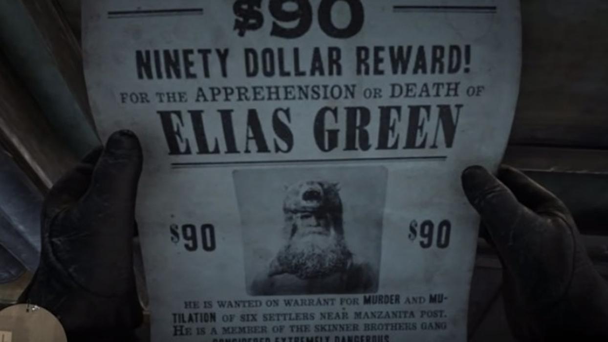 Red Dead Redemption 2 Elias Green
