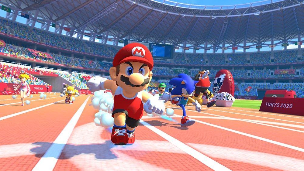 Resultado de imagen de mario y sonic en los juegos olimpicos 2020