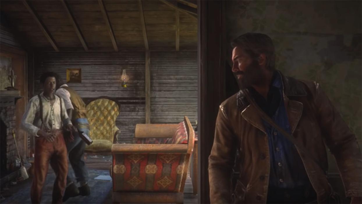 Catfish Jackson Red Dead Redemption 2