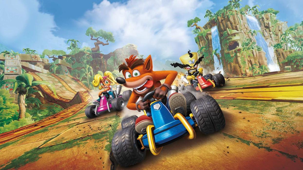 Resultado de imagen para crash team racing gameplay
