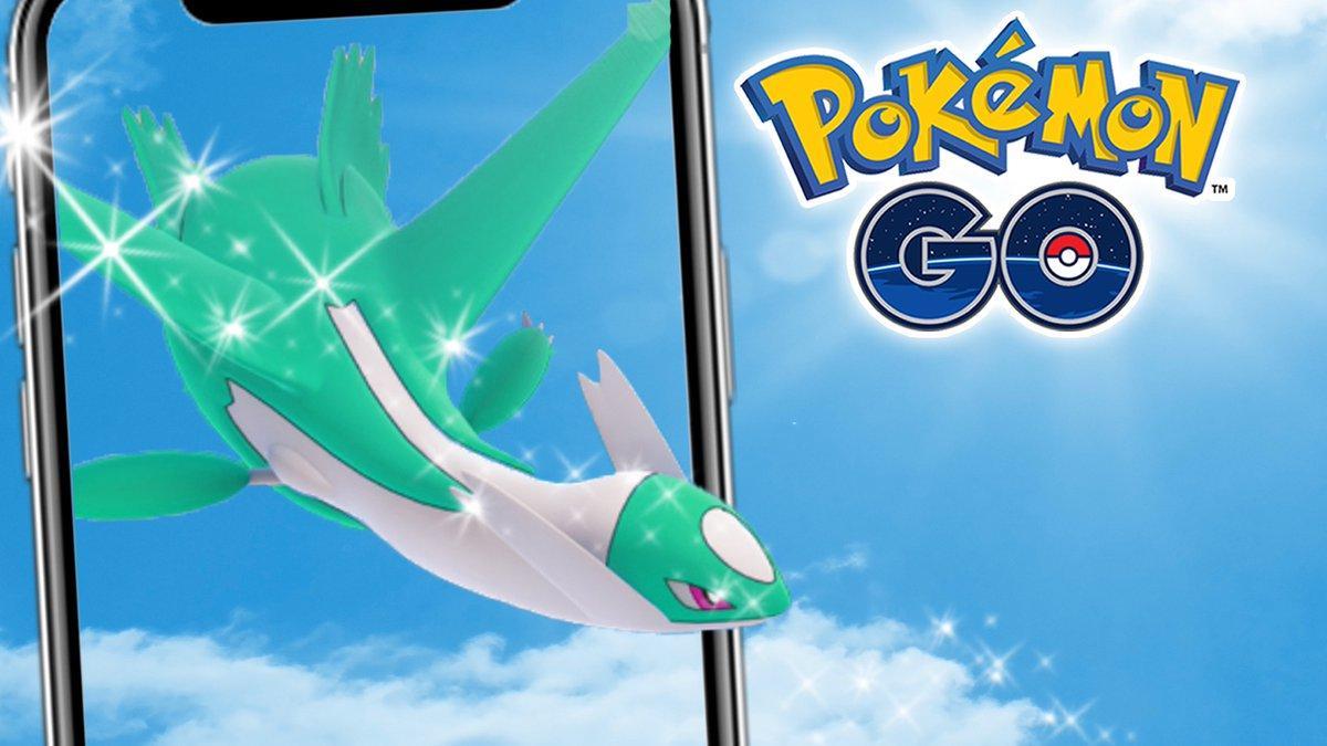 Latios Shiny en Pokémon GO