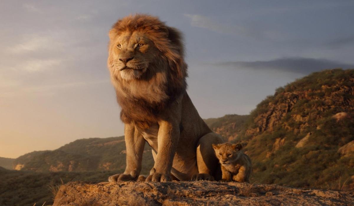 El Rey León 2019 - Mufasa y Simba
