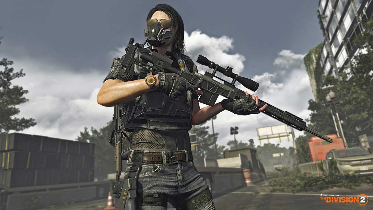 Rifle de precisión Nemesis The Division 2