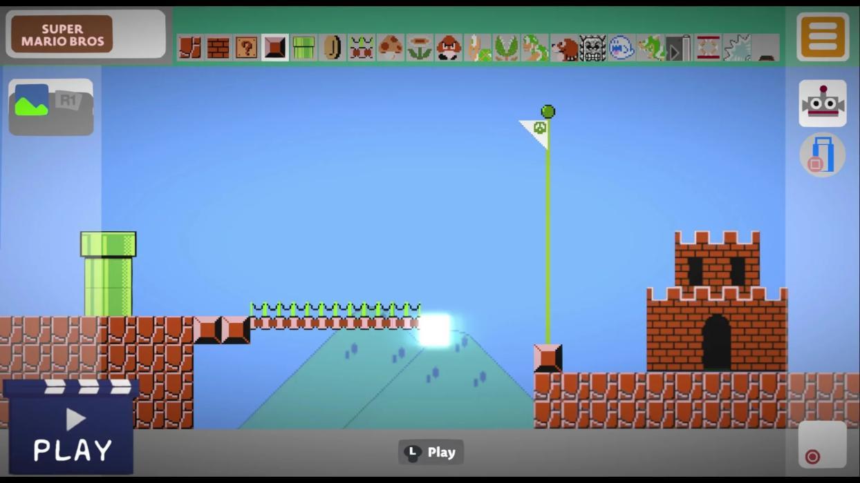 Super Mario Maker LittleBigPlanet 3