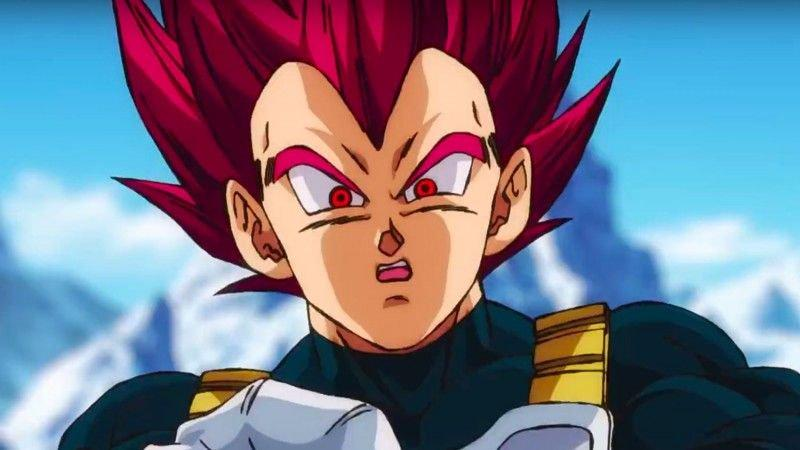 Super Saiyan God - Dragon Ball