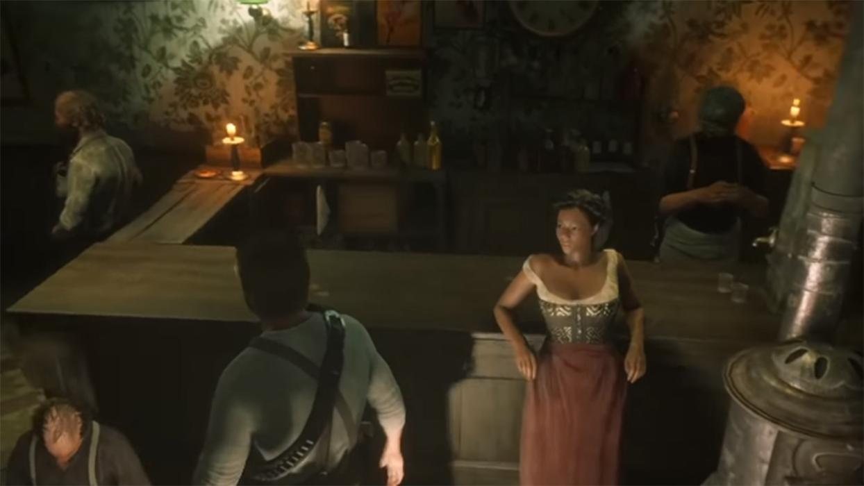Trampa taberna Saint Denis Red Dead Redemption 2