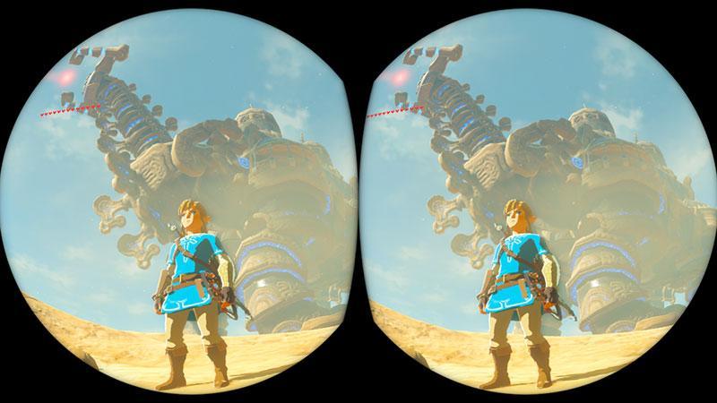 Zelda Breath Of The Wild VR Labo
