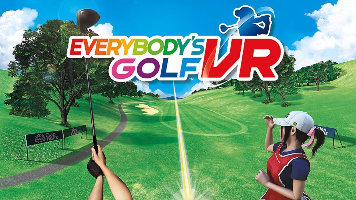 Resultado de imagen de everybody's golf vr