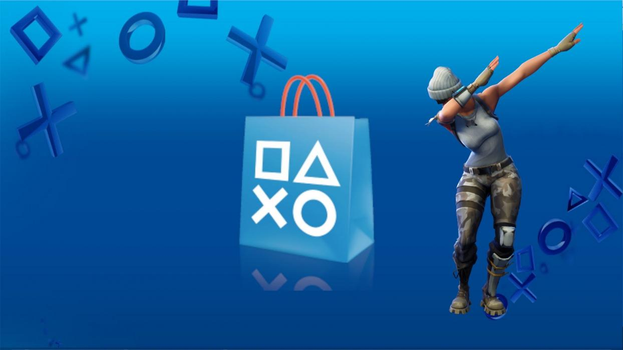 Fortnite PS Store PS4