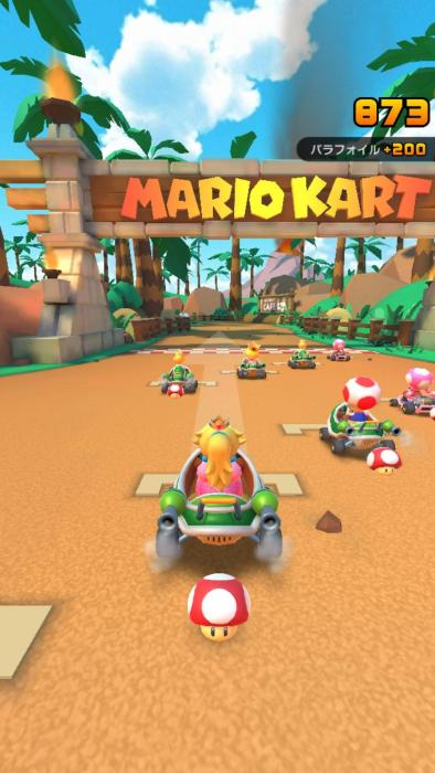 Mario Kart Tour capturas