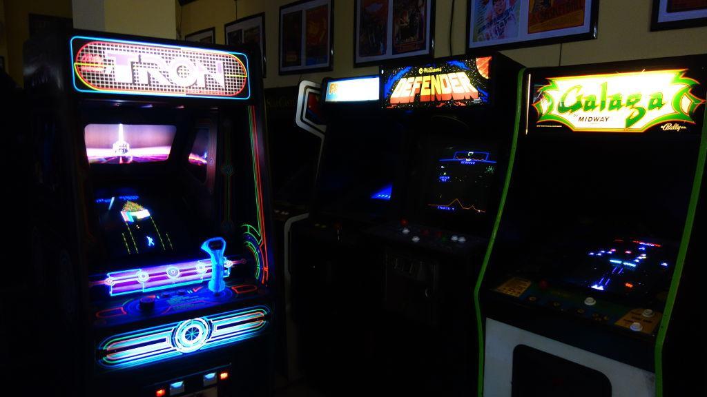 Museo del Videojuego Arcade Vintage