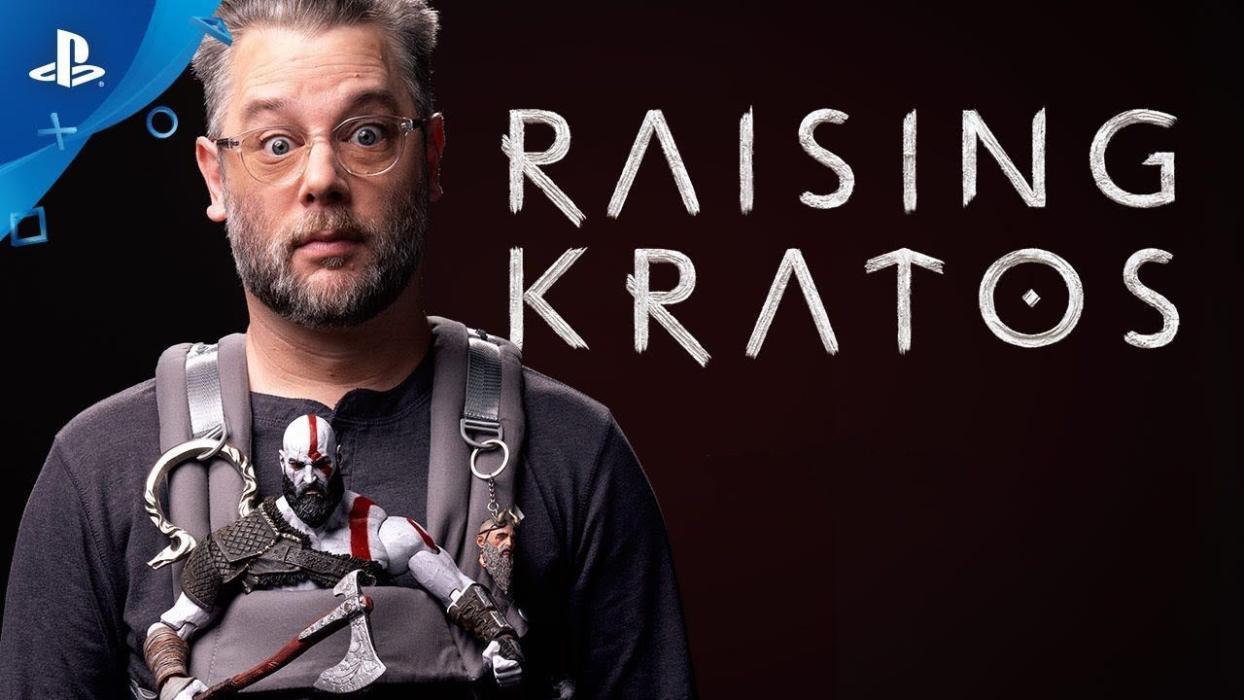 Resultado de imagen de Raising Kratos
