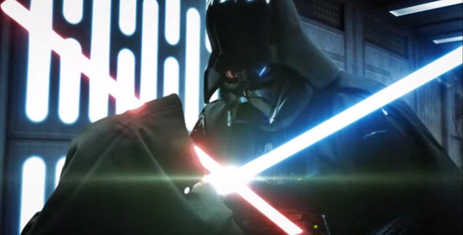 Star Wars - Duelo entre Obi Wan y Darth Vader