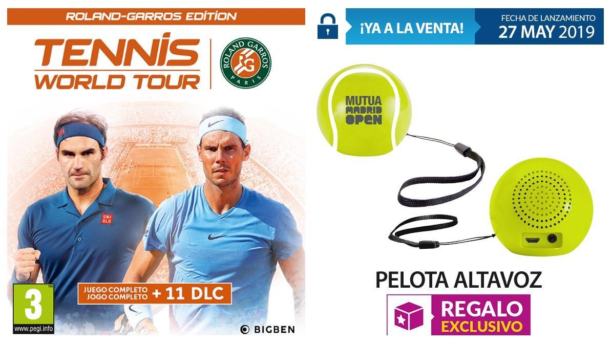 Tennis World Tour Roland Garros Edition  en GAME