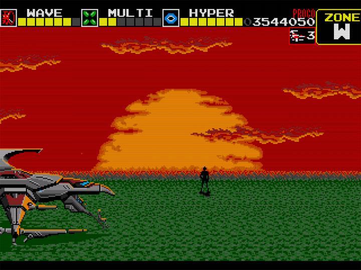 Darius Mega Drive Mini