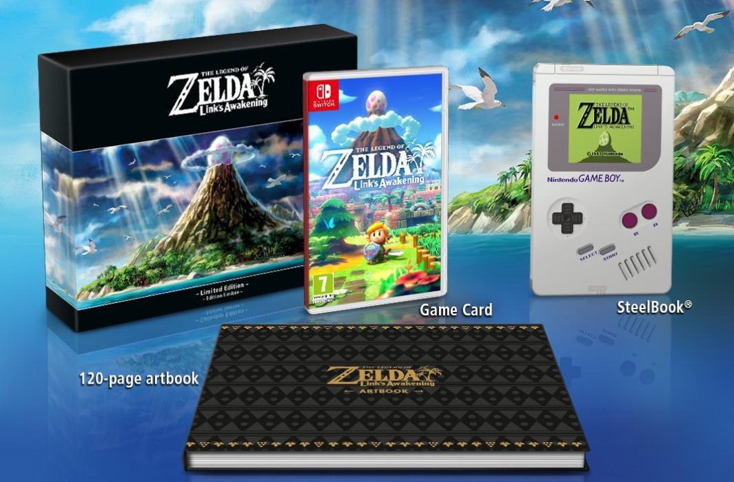 Ediciones Zelda Link's Awakening Nintendo Switch