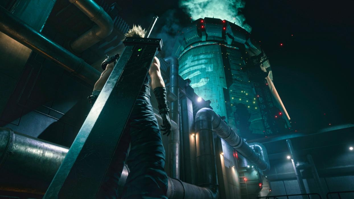 Final Fantasy VII Remake escenarios