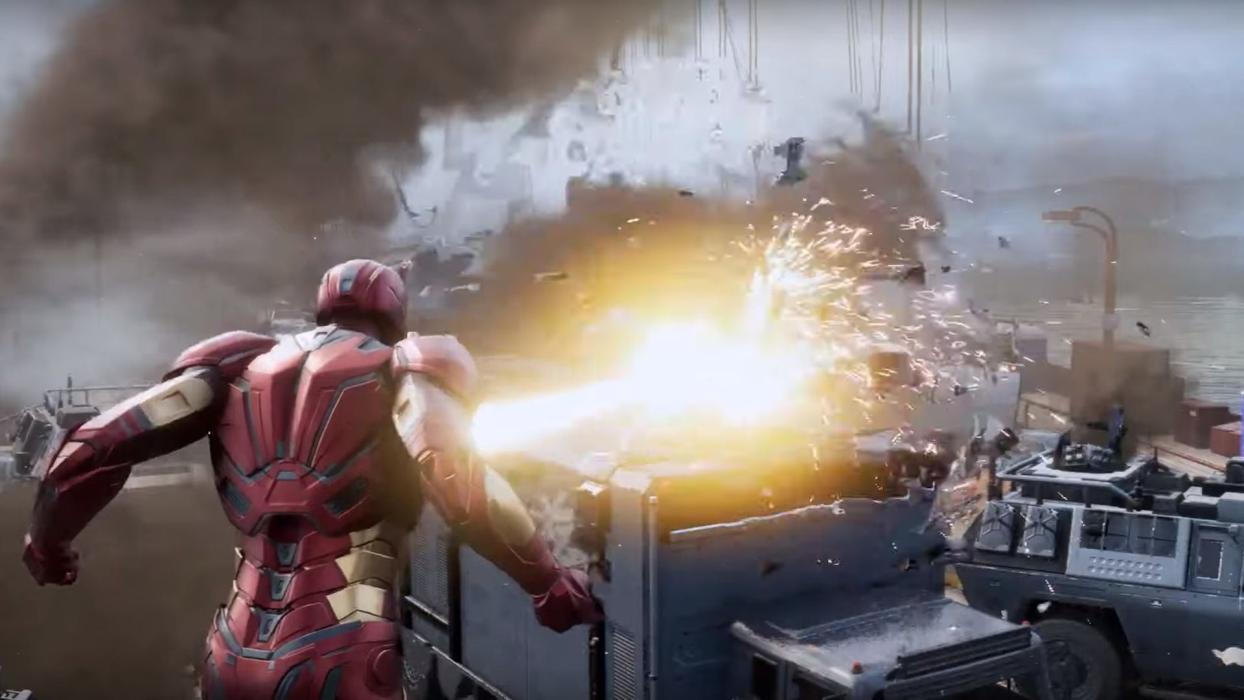 Resultado de imagen de marvel's avengers ps4