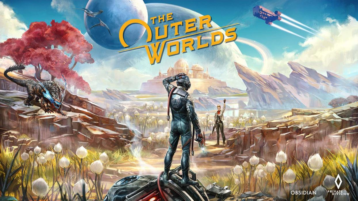 The Outer Worlds Key Art