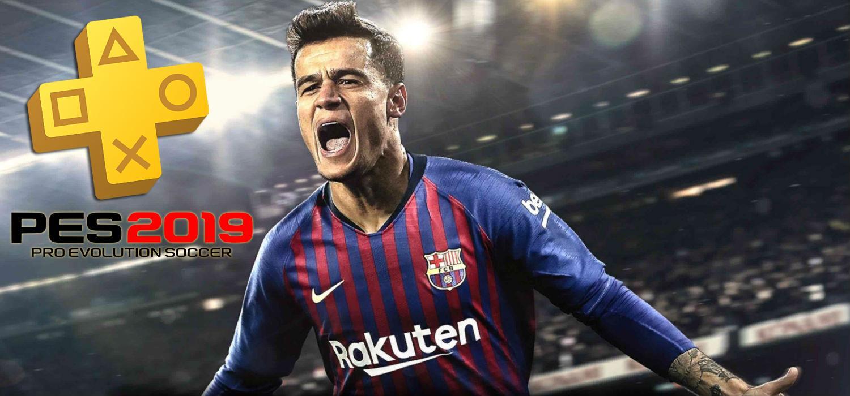 PES es uno de los juegos gratis PS Plus de julio 2019