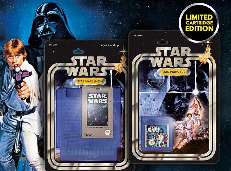 Star Wars NES Game Boy