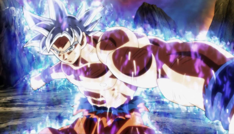 Goku Ultra Instinto resina