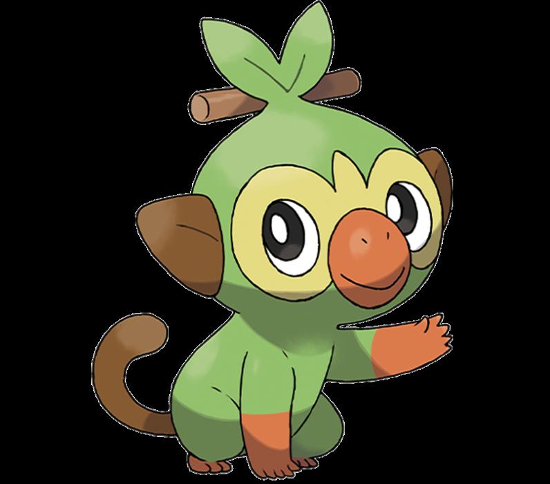 Grookey Pokémon Espada Escudo