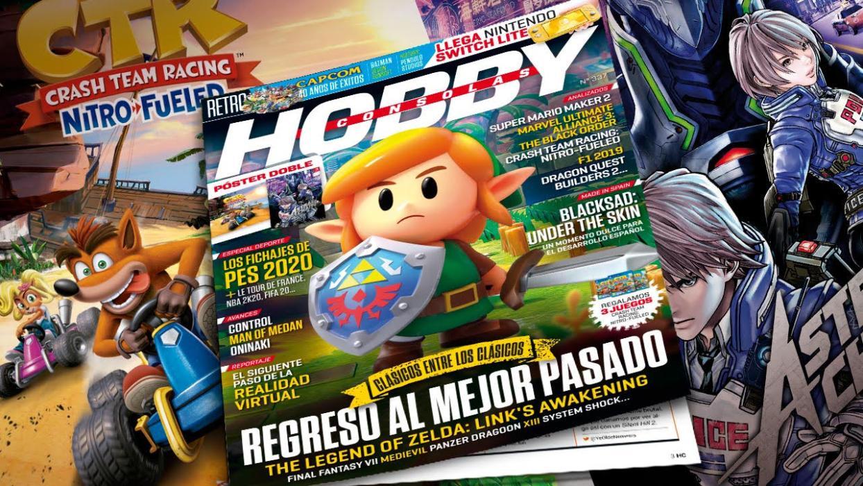 Hobby Consolas 337 (agosto de 2019)
