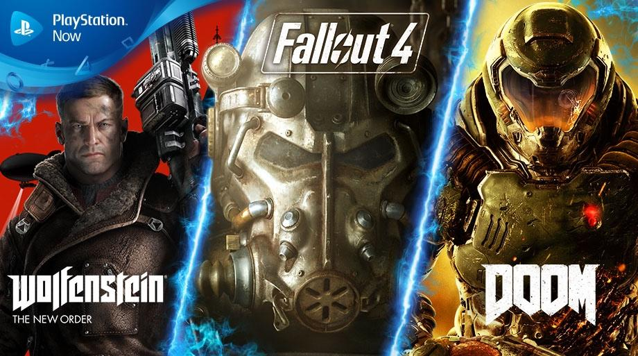 Fallout 4, Doom y Wolfenstein: The New Order llegarán a PS