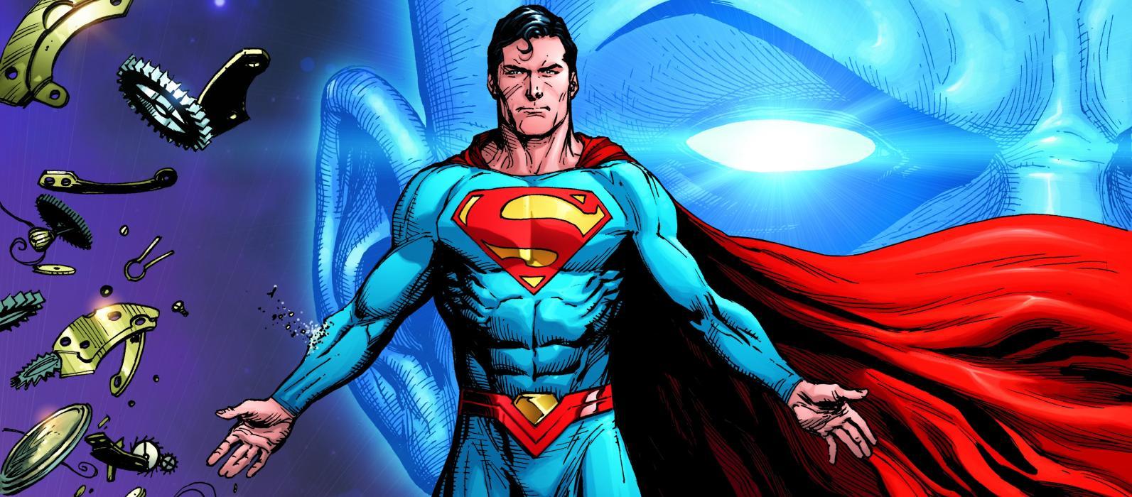 El reloj del juicio final - Superman y Manhattan
