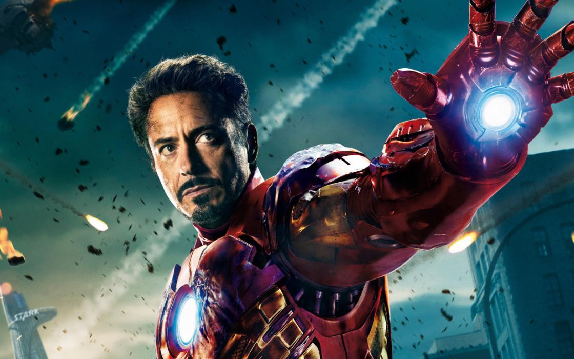 Robert Downey Jr como Iron Man