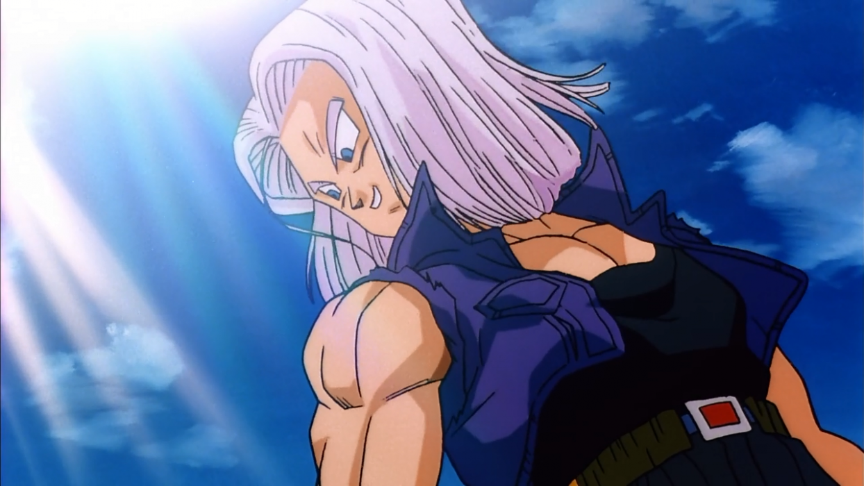Trunks Super Saiyan God