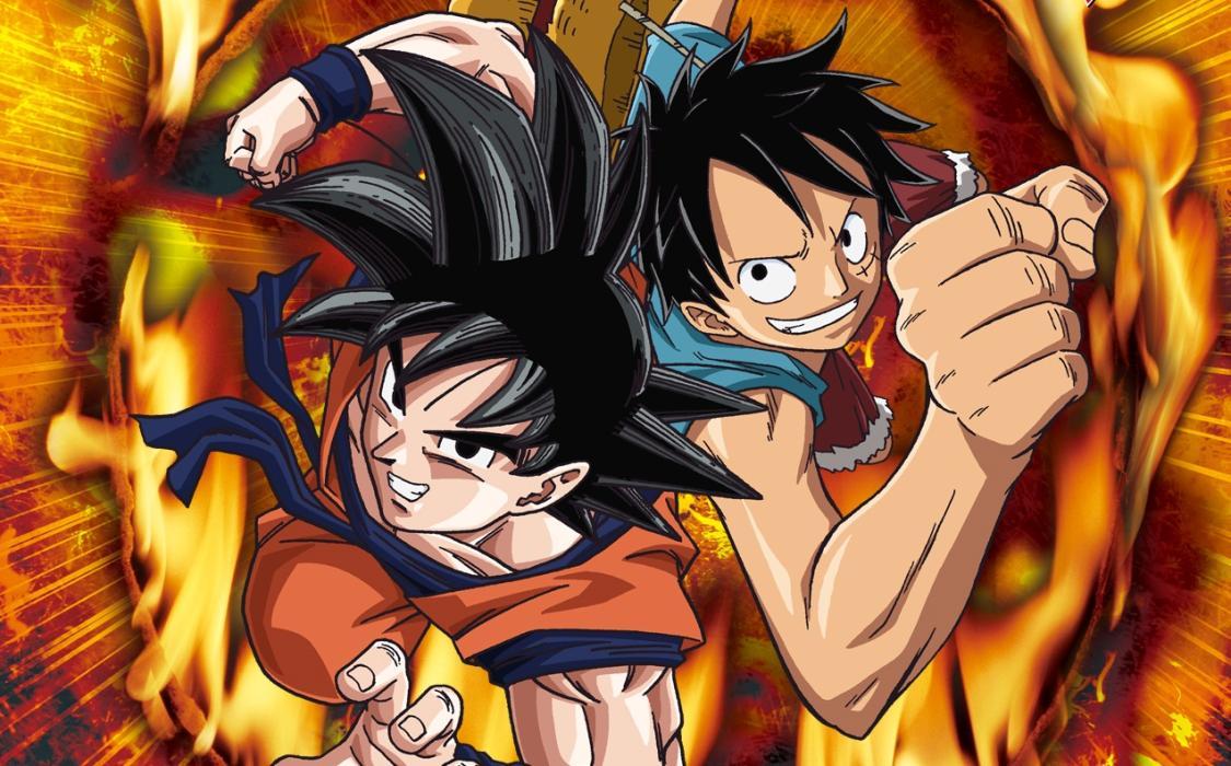 Akira Toriyama dibuja a Naruto, Luffy y Jotaro Kujo