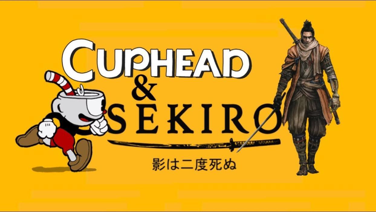 Sekiro Shadows Die Twice y Cuphead