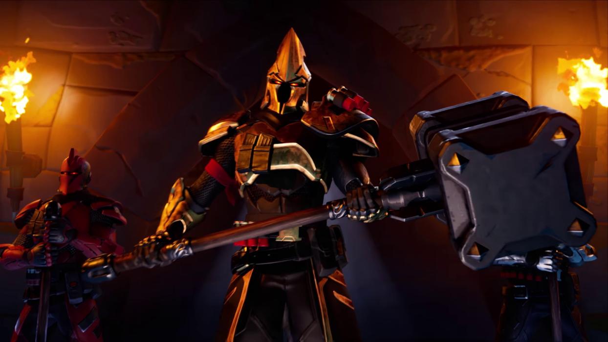 Fortnite temporada 10 Ultima Knight