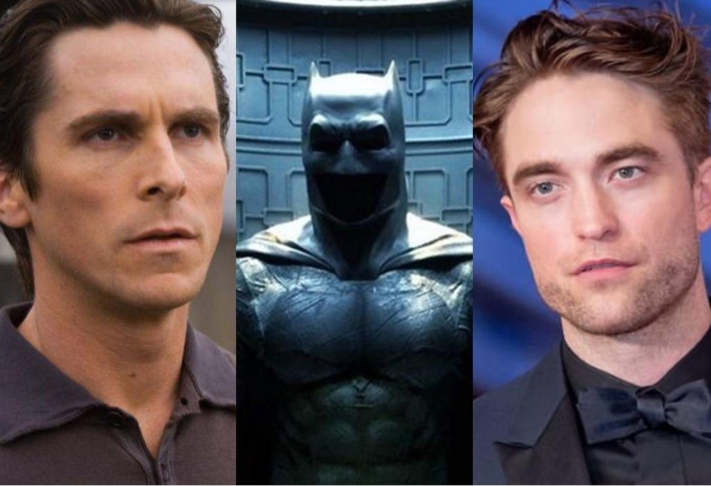 Batman - Christian Bale y Robert Pattinson