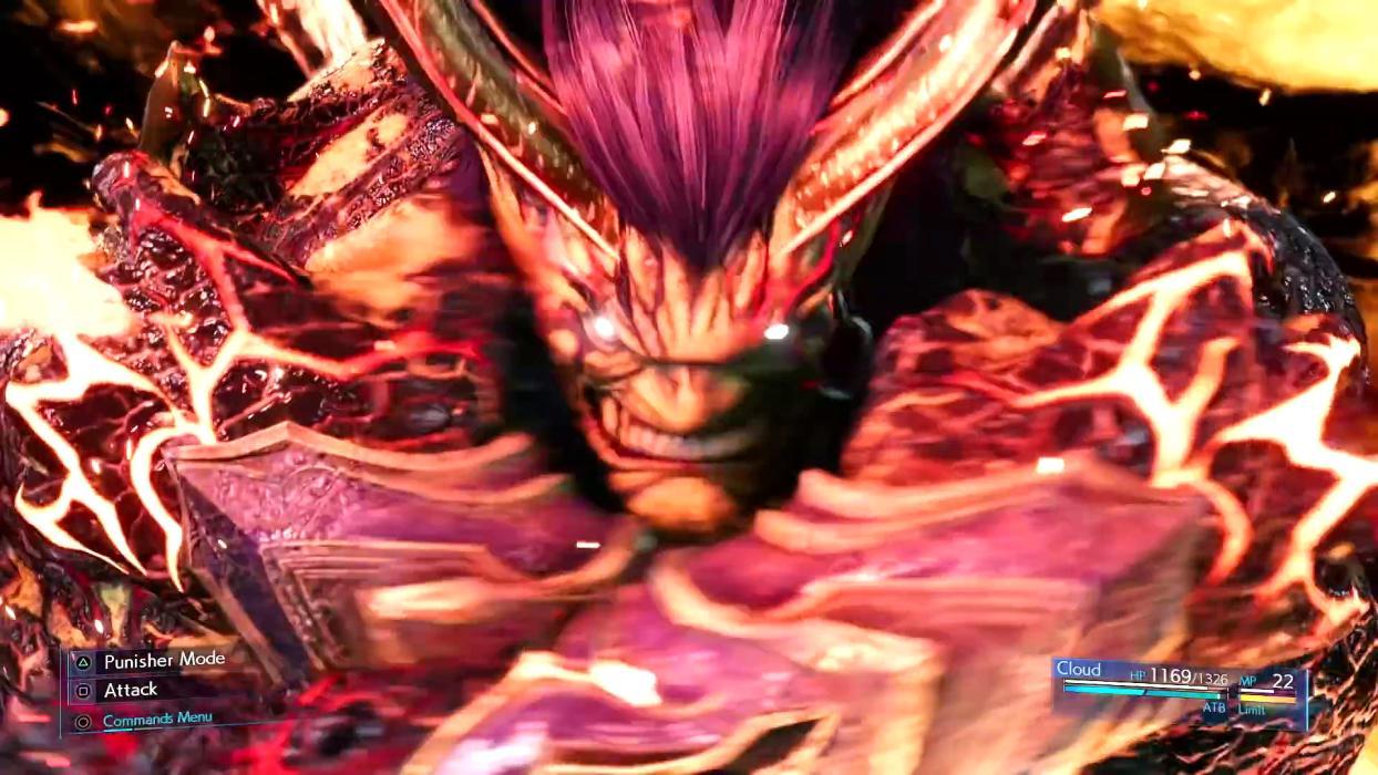 Final Fantasy 7 Remake invocaciones