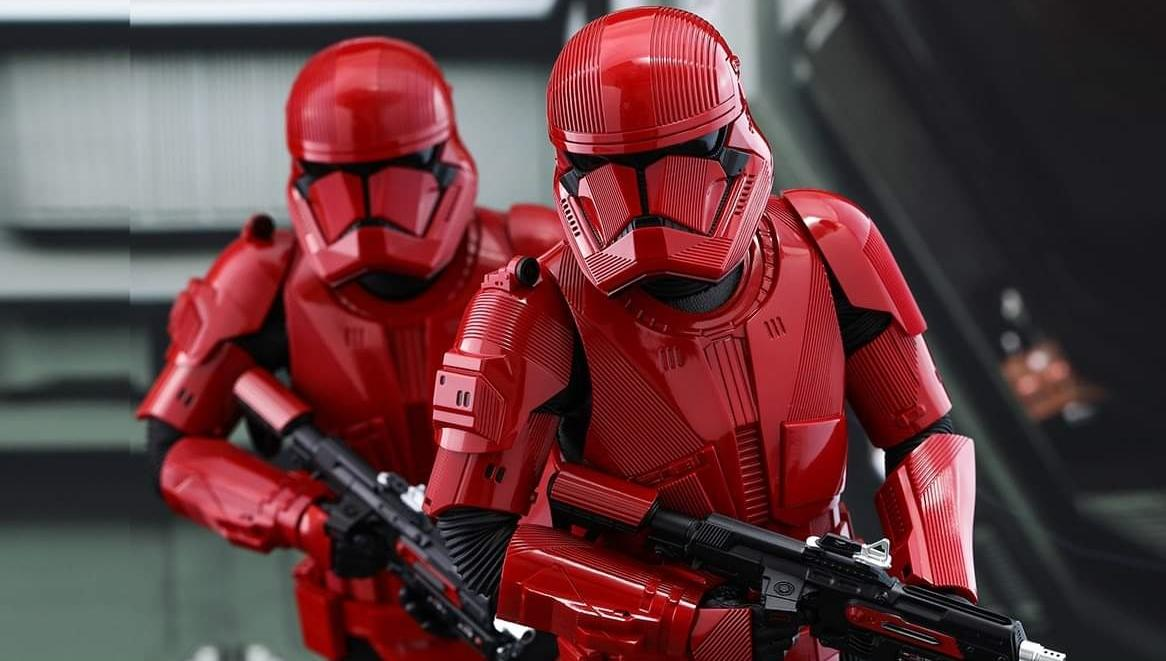 Star Wars 9 - Soldados Sith Trooper