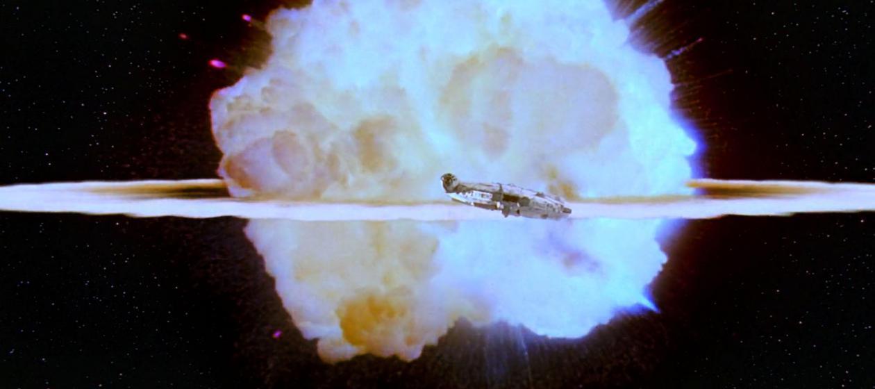 Star Wars - Explosión Estrella de la Muerte