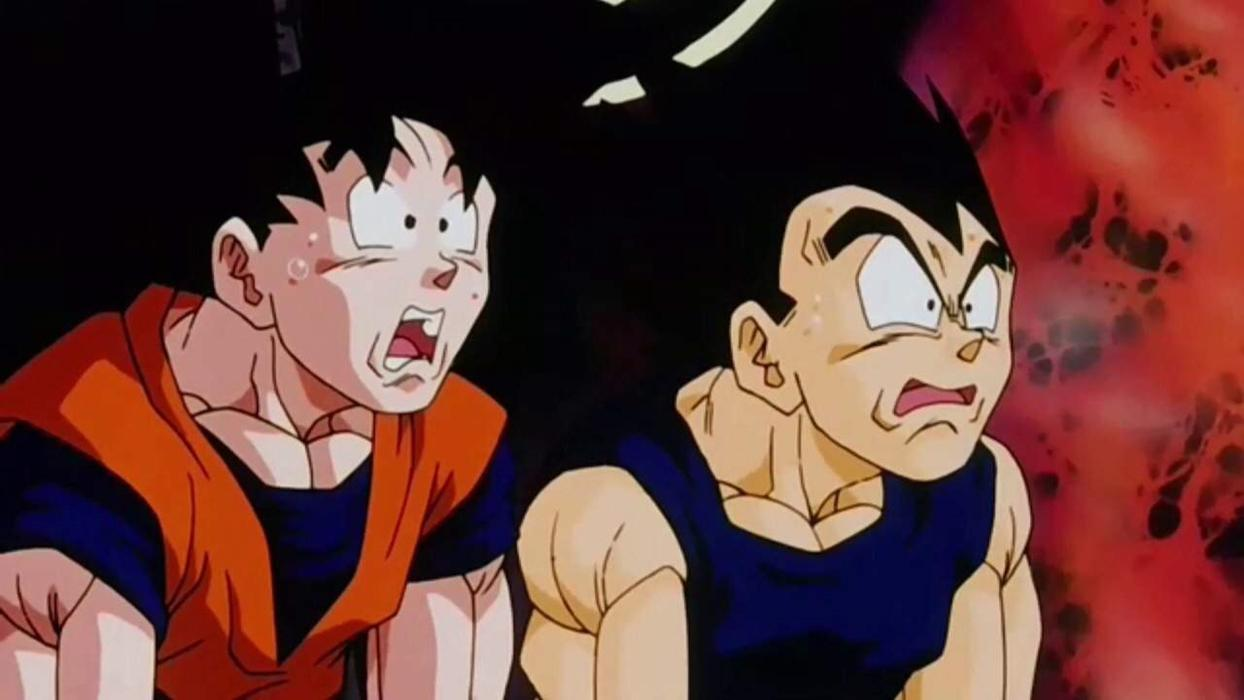Dragon Ball Z - Goku y Vegeta