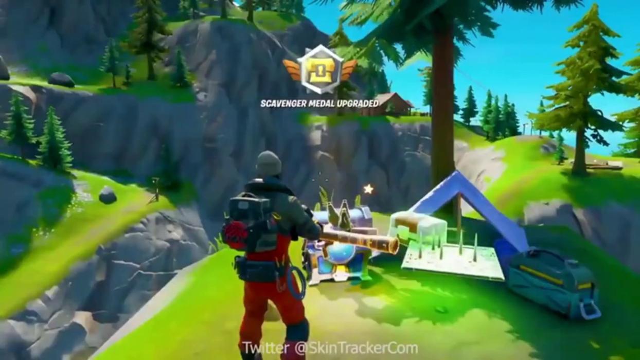Mapa Fortnite Temporada 1.Fortnite Capitulo 2 Es Este El Nuevo Mapa De La Temporada