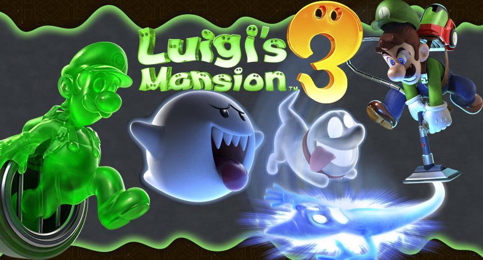Análisis Luigi's Mansion 3