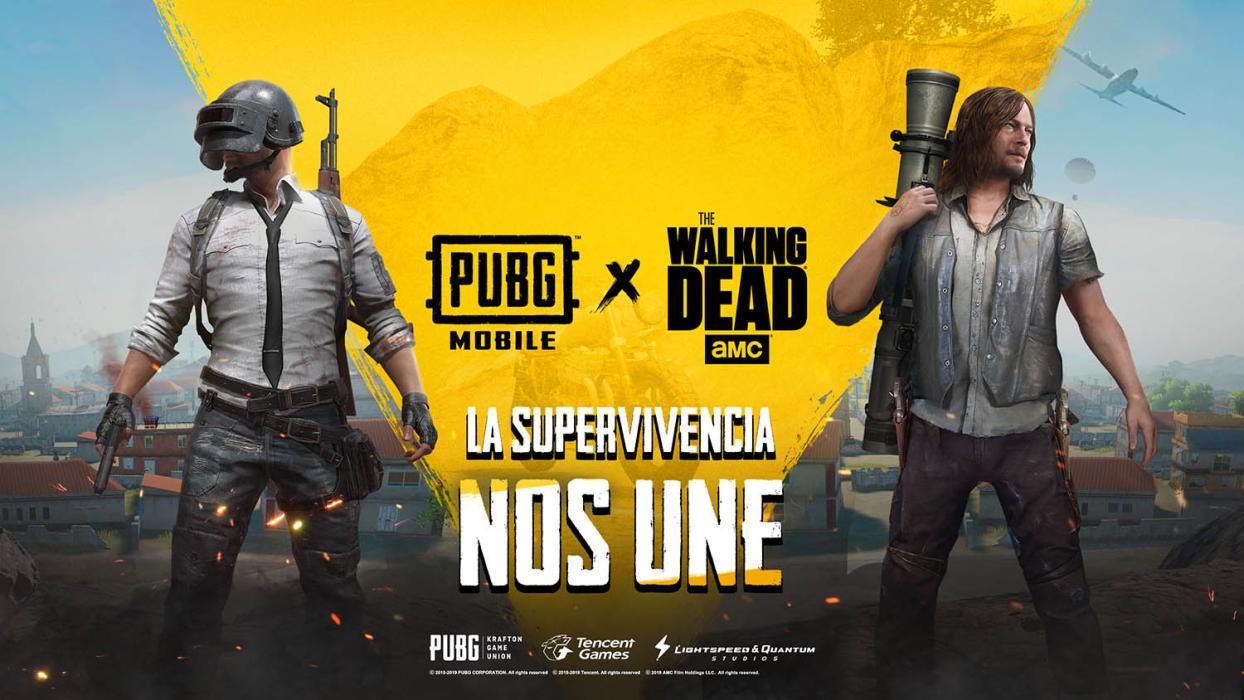 PUBG Mobile y The Walking Dead