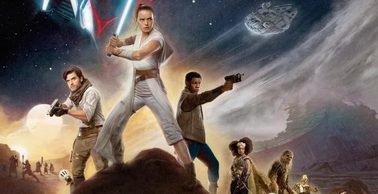 El ascenso de Skywalker Póster 3D