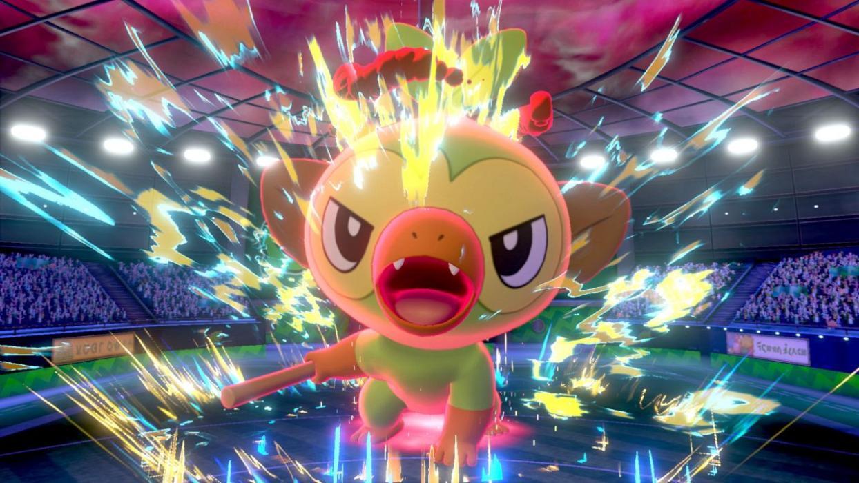 Pokémon Espada Escudo naturleza