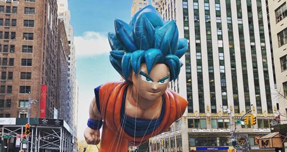 Dragon Ball y un Goku gigante vuelven a pasearse por el desfile de Acción de Gracias