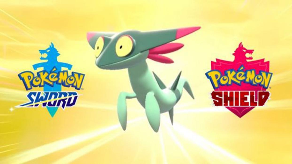Dreepy Pokémon espada y escudo