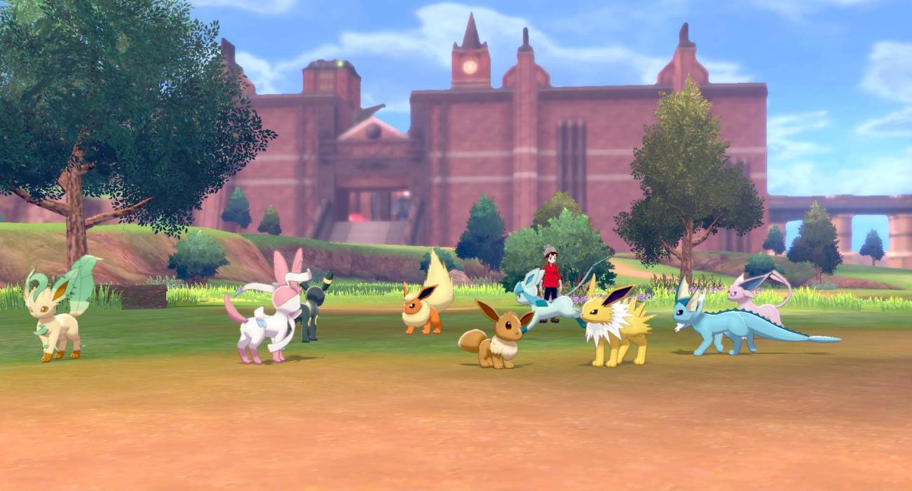 Pokémon Espada Escudo Eevee evoluciones